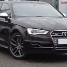 black Audi S3 getaway car mother and son shooting