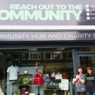 Reach out to the community charity shop