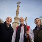 bishop of Manchester, st peter's cross, rededication