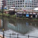 river irwell between salford and manchester