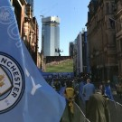 manchester city, manchester, parade