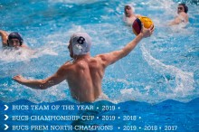 MMU Men's Waterpolo team