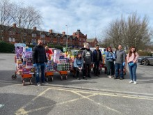 Foodbanks, covid-19, south Manchester, Chorlton