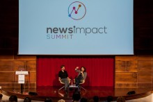 News impact summit, journalists, manchester