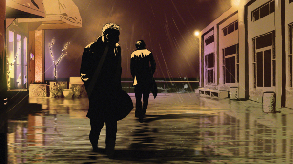 Scene from Waltz With Bashir