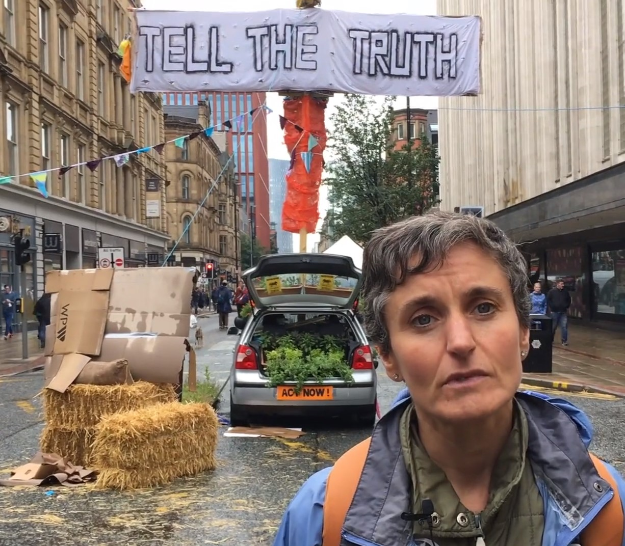 Extinction Rebellion North, Climate emergency, Deansgate, Manchester